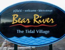 Bear River Village Sign